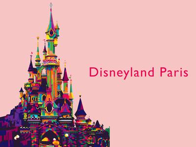 Disneyland Paris WPAP style