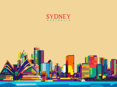 Sydney City Illustration