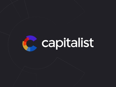 Capitalist app branding vector logo