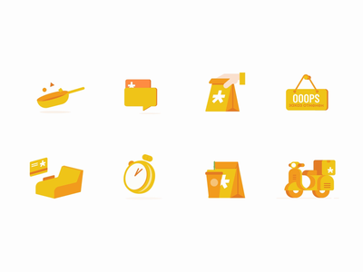Icons animation icon vector illustration animation