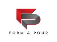 Form & Pour Logo Design