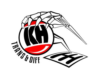 KH Transmission & Diff Logo Design