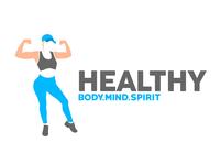 Healthy Body Mind Spirit Logo Design