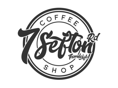 7 Sefton Rd Coffee Shop Logo Design