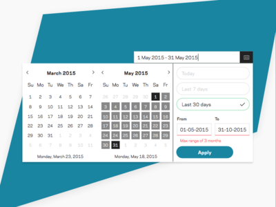 Calendar Input