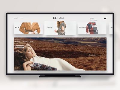 Fashion Shop App - AppleTV
