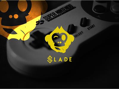 Slade Mascot Logo Design twitchbranding