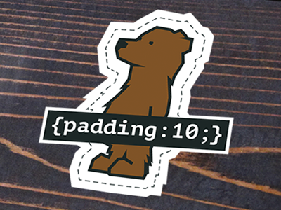 Padding:10 Bear - Sticker & Shirt