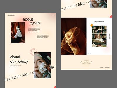Swiss style portfolio — Part II art portfolio web photography swiss ui design typography