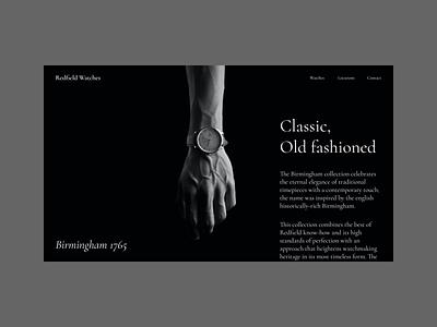 Birmingham 1765 ui dark ui swiss style watches watch
