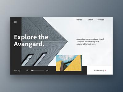 Minimalism minimalism architecture slider
