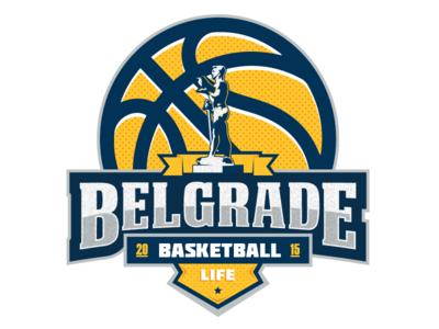 New t-shirt design basket ball basketball kosarka belgrade pobednik beograd life lopta emblem sport