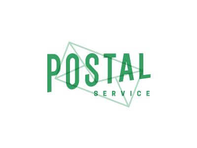 Postal logo receive mail package deliver postal service post