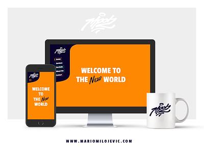 Mario Milojevic mobile mro2 branding identity responsive custom design web website milojevic mario