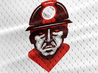 Basketball Club Bor - Rudar miner sport city bor mascot character emblem logo ball basketball