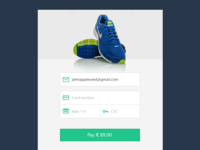 DailyUI Day 002 Credit Card Checkout