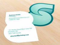 Structur3D Printing Business Card