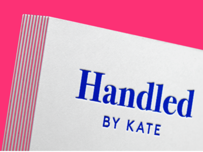Brand Identity for Handled By Kate