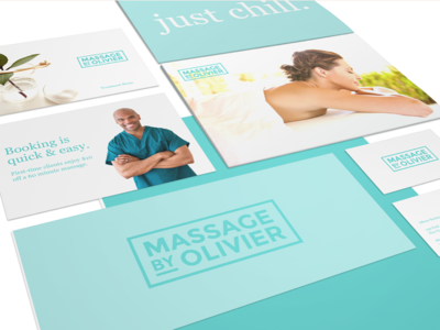 Massage By Olivier Brand Identity