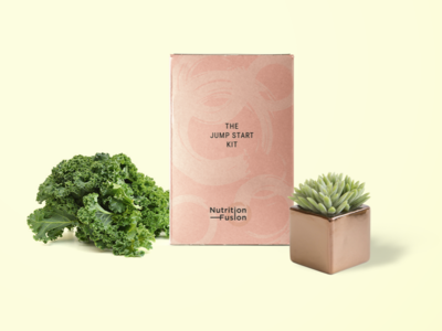 Brand Identity & Package Design For Nutrition Fusion