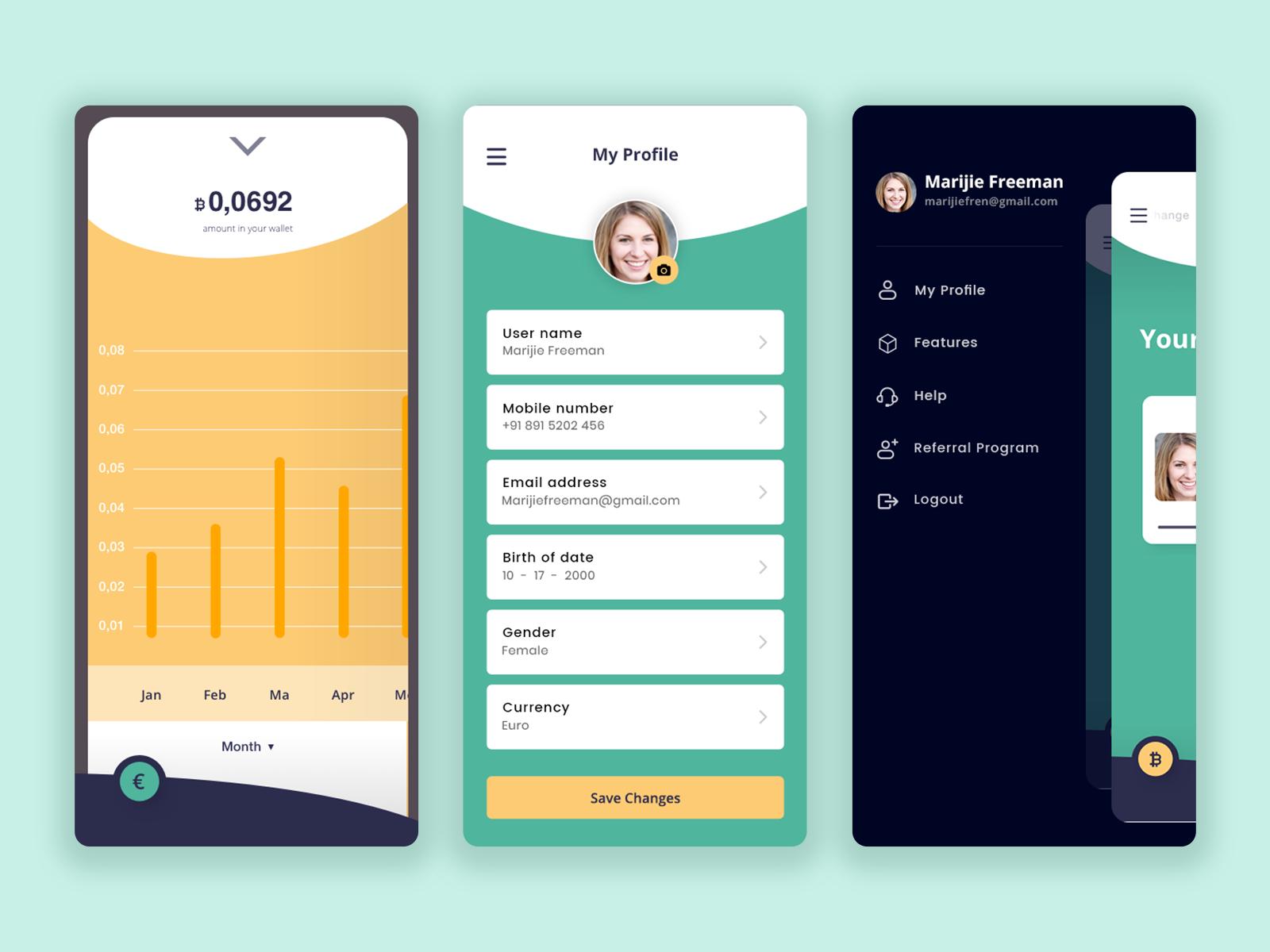 digital currency wallet app