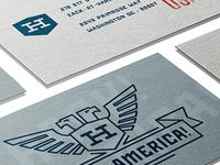 Hark America Business Cards