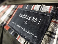 Slingshots & Arrows Anorak No. 1