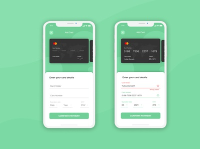 Credit Card Checkout for Dailly UI #2