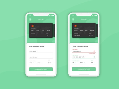 Credit Card Checkout for Dailly UI #2 creditcard green web ux ui responsive layout mobile interface design app dailyui