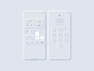 IOS Neomorphism neomorphism ui interface design