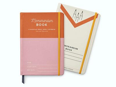 Pocket Notebooks nashville pencil orange pink pocket notesbooks pocket notebook notebooks