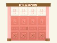 Guatemalan Hotel Door