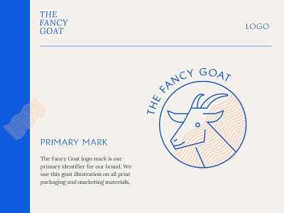 The Fancy Goat Logo Guidelines goats animal illustrations blue and pink female designer los angeles nashville logo mark logotype logo guidelines brand guidelines style guide goat logo designer logo design