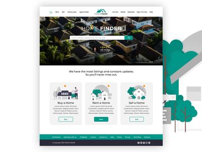 Home Finder Landing Page