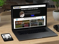 Timberlind Auctions Website Designed and Developed canada alberta website development design auctions timberlind