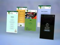 Drayton Valley Community Foundation Website - Mobile Design