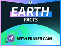 EARTH facts with Fraser Cain design illustration animation after effects space motion eye graphics vector youtube yt science earth