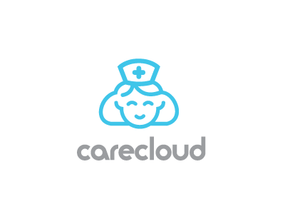 Care Cloud nurse cloud medical hospital care logo logos logo design icon