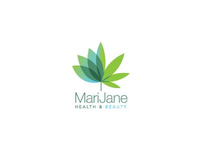 Marijaned marijuana weed hemp infused leaf lotus beauty organic