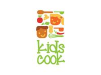 Kids Cook Logo Design