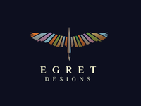 Egret Logo Design