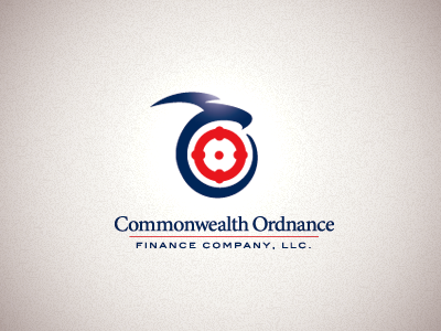 Commonwealth Ordnance target eagle falcon bank logo bird