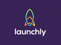 Launchly Logo Design