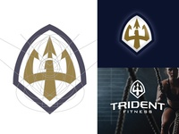 Trident Fitness Gym Brandmark