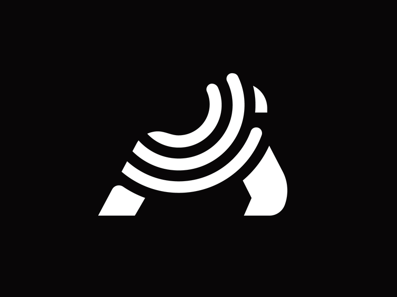 5g Gorilla bands broadcast podcast radio broadband brandmark icon logo signal wireless 5g ape gorilla