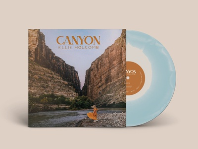 Canyon packaging design nashville album art album vinyl music