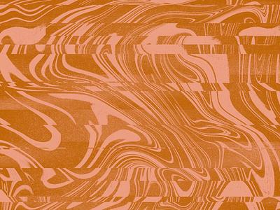Glitchy ink glitch procreate texture illustration