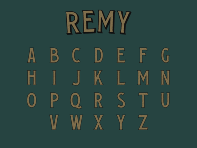 Remy Typeface
