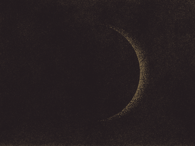 Eclipse light grain gritty illustration awakening sun eclipse