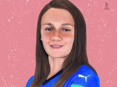 Anna Serturini mexico color art digitalart drawing ozgaleano arte fanart dibujo futbol anna serturini italian